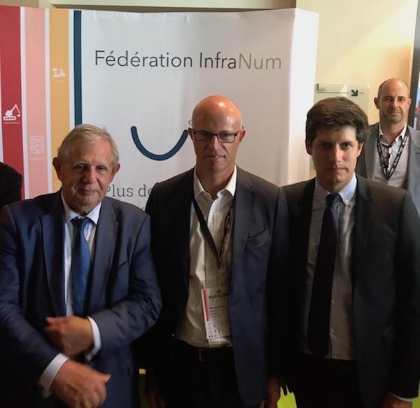 Jacques Mezard, Étienne Dugas et Julien Denormandie